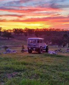 Belleza LAND CRUISER australiano. Fotografía @discoverfj40 #40series #fj40…