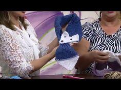 Mulher.com - 22/03/2016 - Gola de tricô em pontos gomos - Rosângela Chicote - YouTube