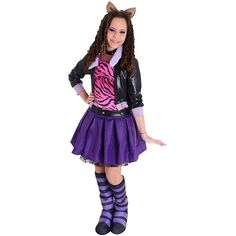fantasia monster high Clawdeen WolfFantasia Monster High <img class= #fantasiamonsterhigh #monsterhigh #festamonsterhigh Fantasia Monster High, Snow White, Punk, Princess, Disney, Character, Style, Products, Fashion