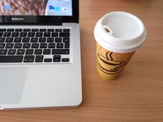 Coffee and work Macbook Pro, Coffee, Tableware, Kaffee, Dinnerware, Dishes, Cup Of Coffee, Place Settings, Serveware