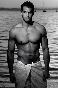 Jeremy Parisi, the Jiu-Jitsu and judo competitor turned model. holy moly.