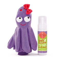 Bubbles the Octopus Scrubbie Buddy + Bath Smoothie - Bubbles the Octopus is a lovable Scrubbie Buddy that has been developed by Scentsy as a way to make bath time even more enjoyable.