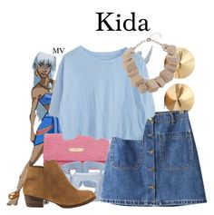 """Kida"" by megan-vanwinkle ❤ liked on Polyvore featuring Disney, Blugirl, ZENZii, Eddie Borgo, Chicnova Fashion, Jessica Simpson and Jaeger"