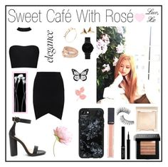 """Set 141 - Sweet Café With Rosé"" by belynlove1d ❤ liked on Polyvore featuring CLUSE, Bobbi Brown Cosmetics, Giorgio Armani, Trish McEvoy, Tory Burch and Casetify"