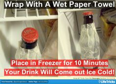 Chill Any Drink in 10 Minutes