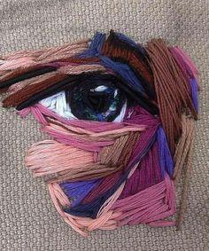 Ideas Embroidery Inspiration Hand Stitching Textile Art For 2019 Inspiration Art, Art Inspo, Hand Embroidery Stitches, Diy Embroidery Art, Hand Stitching, Embroidery Designs, A Level Art, Art Portfolio, Fashion Design Portfolio
