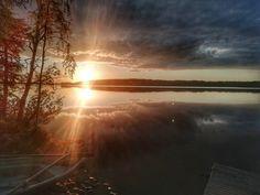 Kuusamo Finland Lapland Finland, Northern Lights, Celestial, Sunset, Nature, Travel, Outdoor, Outdoors, Naturaleza