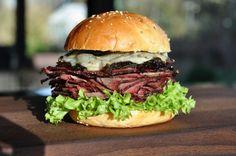 Beef Brisket Burger