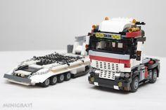 trailer truck | by MiniGray!