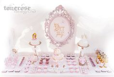 Princess dessert table // sweet table - once upon a time, fairytale Princess Party, Dessert Table, Fairytale, Sweet, Desserts, Fairy Tail, Candy, Tailgate Desserts, Fairytail