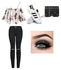 """date with E;)"" by hiplikeabigail on Polyvore featuring 2LUV, adidas and ASAP"