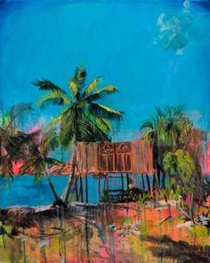 """Saatchi Art Artist Melissa Loop; Painting, """"The Outsiders' Nostalgic Fantasy"""" #art"""