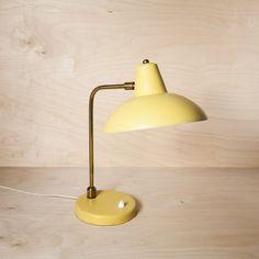 "Lampe de bureau années 50 ""Citronnade"""