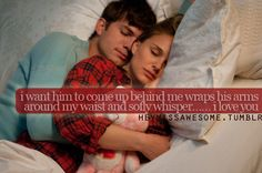 Love Quotes for Him From Her Tumblr   ... whisper…… i love you (from micalovesixteens)submit quotes here