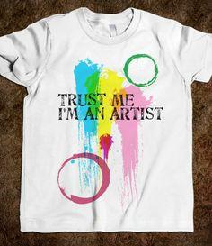 Trust me - I'm An Artist Toddler