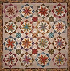 Eldon quilt pattern from Laundry basket Quilts. I have it waiting for the time to make it.