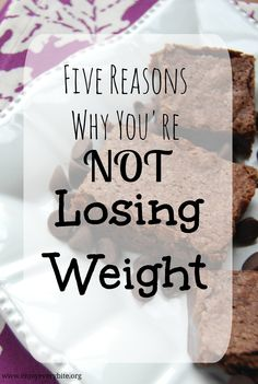 Five common mistakes made by dieters that are stopping their weight loss success.