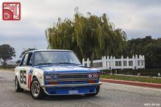 Datsun Roadster, Datsun 510, Racing Seats, Road Racing, Aluminum Radiator, Paint Schemes, Vintage Racing, Blue Bird, Race Cars