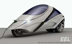 The Agile Eel Electric Vehicle Can Meander in and Out of Traffic #Cars #Automobiles
