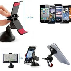 360 DEGREE ROTATING UNIVERSAL MOBILE PHONE/GPS HOLDER FOR CAR