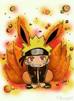 Naruto - Chibi with Nine Tails