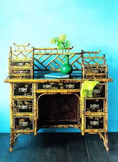 U Haul Furniture Dolly Plywood Furniture, Bamboo Furniture, Furniture Dolly, Painted Furniture, Luxury Furniture, Hollywood Regency, Kitsch, Oriental Furniture, Japanese Interior
