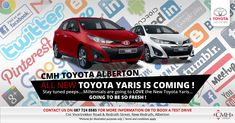 Welcome to the online home of CMH Toyota Alberton, where you will find the latest and best Toyota models as well as carefully selected used vehicles. Toyota, Used Cars, Vehicles, Car, Vehicle, Tools