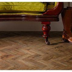Telenzo Bakerloo Stripe Carpet With Karndean Parquet