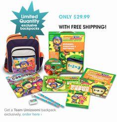 Team Umizoomi Preschool Math Kits For Sale