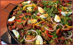 Cozinha para relaxar: Paella mineira ou paella caipira