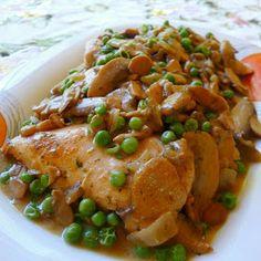 SPLENDID LOW-CARBING BY JENNIFER ELOFF: Easy Peasy Skillet Chicken (GF)