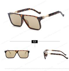 463c18ad0f Oversized Men sunglasses men brand designer retro vintage male sunglasses  square gradient sun glasses for men