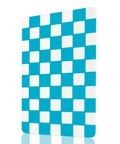Art & Cook Blue Checkerboard Cutting Board