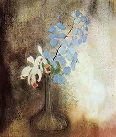 """""""Orchids, Odilon Redon """""""