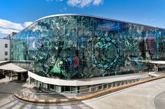 Printed Glass Façade in a University Hosptial in Finland