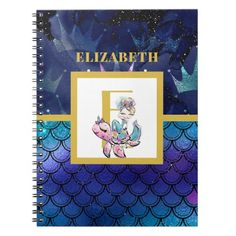 Back To School Images, Freedom Design, Mermaid Scales, Notebook Covers, Custom Notebooks, Sticker Shop, Gifts For Teens, Monogram Initials, Office Gifts