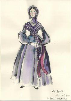 The Young Victoria Costume Design