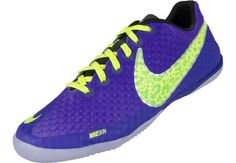 d059207b161 Nike FC247 Elastico Finale II Indoor Soccer Shoes - Pure Purple and Volt.
