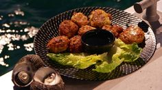 Conch Fritters (Antigua)(I used Pearl meat)