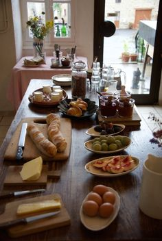 Jenny Chandler | I've Mostly Been Eating - perfect breakfast at Chassignolles