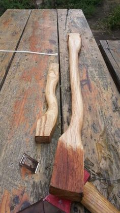 Carving Axe and Hatchet Handles