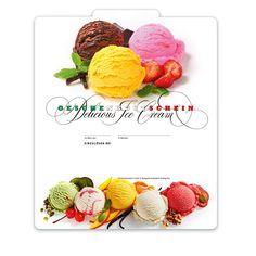 Gutscheinvorlage für Eisdielen Raspberry, Fruit, Food, Fine Dining, Ice Cream Shops, Italian Restaurants, Things To Do, Templates, Gifts