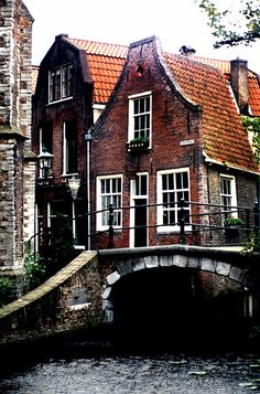 Delft, The Netherlands.  Gorgeous and welcoming home of the great Johannes Vermeer, and also the world's first microbiologist, Antonie van Leeuwenhoek.