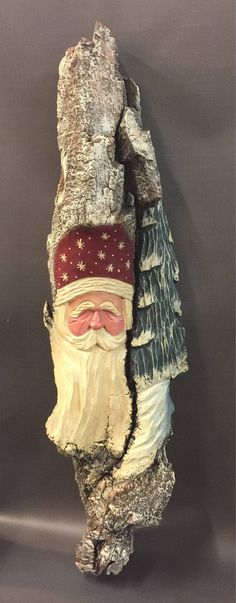 A personal favorite from my Etsy shop https://www.etsy.com/listing/546532493/hand-carved-original-massive-santa-wood
