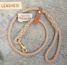 RESQ/CO leashes -- Newport Beach, Ca (http://www.etsy.com/shop/RESQCO?ref=seller_info)