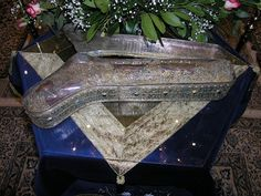 The holy, incorrupt foot of St. Photini the Great Martyr, treasured by the Monastery of Iveron, Mount Athos