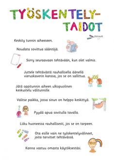 Tunne- ja kaveritaidot - Värinautit Childhood Education, Word Search, Teacher, Classroom, Words, School, Ideas, Early Education, Class Room