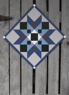 Washington Star barn quilt made by TheBarnQuiltStore