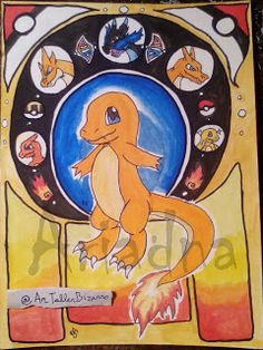 DAY 4 -- 30 days drawing challenge - Pokémon © Ariadna http://artallerbizarro.blogspot.com.es/2015/09/day-4-30-days-drawing-challenge-pokemon.html