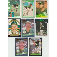 HUGE 40 + different CARNEY LANSFORD cards lot 1984 - 1993 all Athletics Tiffany Listing in the 1980-1989,Lots,MLB,Baseball,Sports Cards,Sport Memorabilia & Cards Category on eBid United States | 148164742